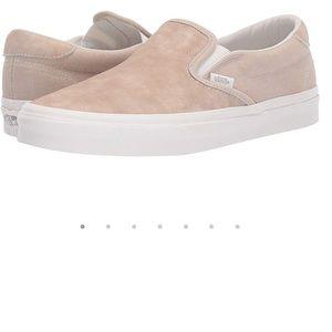 Vans Suede Slip On - Blush Pink